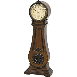 Rhythm Clocks Marie Antoinette II Wooden Musical Mantel Clock