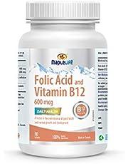 Maplelife Folic Acid and Vitamin B12