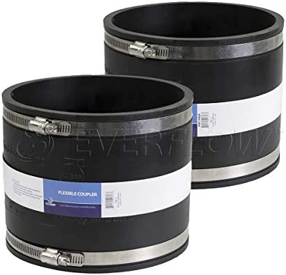 Black Everflow 4831 Coupling 2 x 1-1//2 Iches