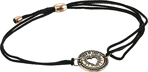 Alex and Ani Women's Kindred Cord, Token of Love Bracelet Rose Gold One Size