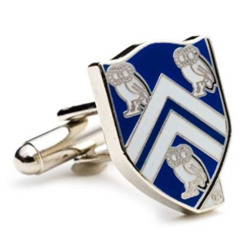 Silver Plated Rice University Owls Cufflinks