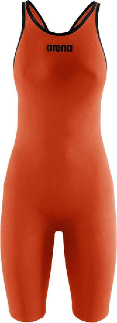 ARENA Carbon Pro Mark 2 Kneeskin Open Back Orange 30