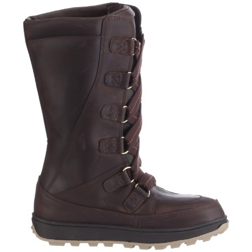 Timberland MUKLUK 8IN WP 76716 Mädchen Stiefel Braun (Brown with Gold)