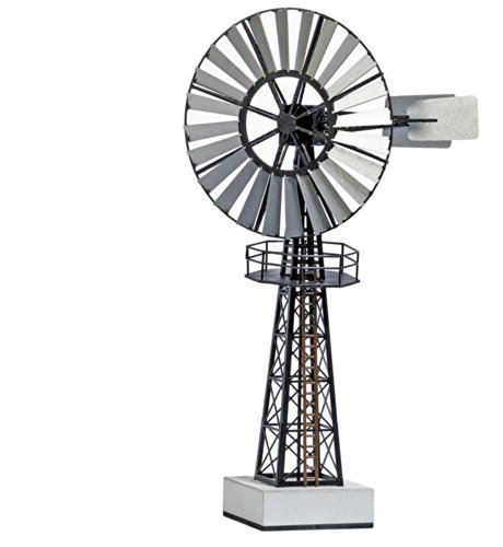 Busch 1574 Wind Pump HO Structure Scale (Busch Pump)