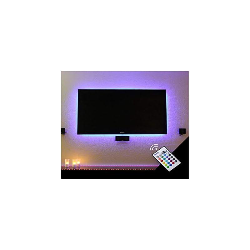 BASON USB LED TV Bias Lighting for 60 to