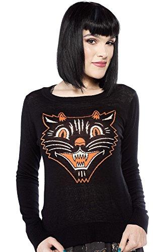 Sourpuss Lucy Fur Sweater S -