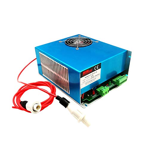 HQ 80W MYJG-80 CO2 Laser Power Supply For CO2 Laser Engraver Cutter 110V (Source Co2 Air)