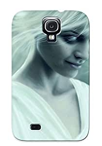 Eatcooment High Grade Flexible Tpu Case For Galaxy S4 - Evil Look ( Best Gift Choice For Thanksgiving Day)