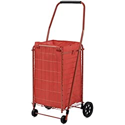 Sandusky FSC3012 Folding Shopping Cart, 66 lbs Capacity