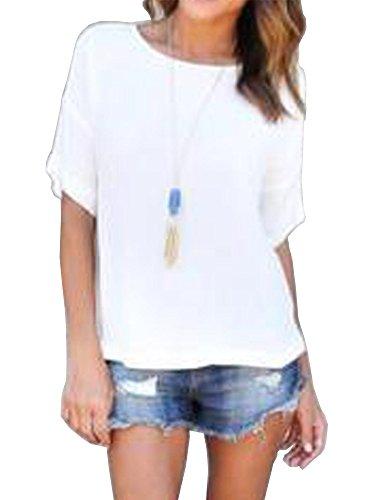Zaoqee Summer Sleeve Shirts Juniors