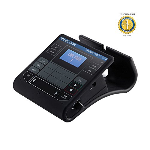 TC-Helicon VoiceLive Touch 2 Vocal Harmony and Effects Processor with 1 Year EverythingMusic Extended Warranty Free