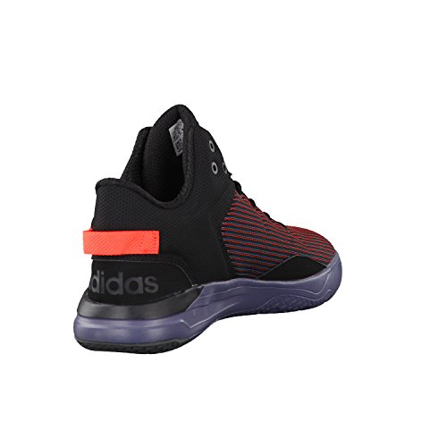 adidas NEO Herren Sneaker CLOUDFOAM REVIVAL MID core black/core black/solar red 44 2/3