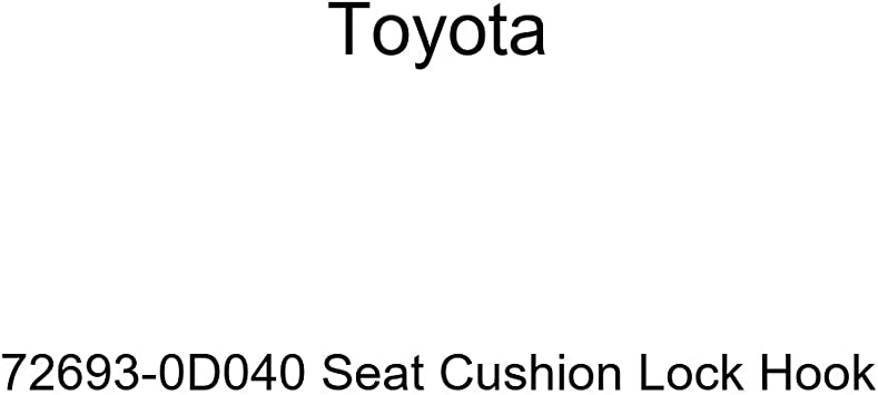 TOYOTA Genuine 72607-90K00 Seat Cushion Lock Hook