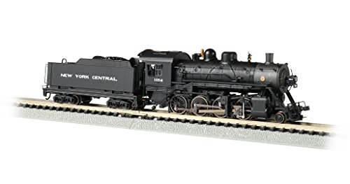 Baldwin 2-8-0 DCC Sound Value Econami Equipped Locomotive - NYC #1156 - N Scale