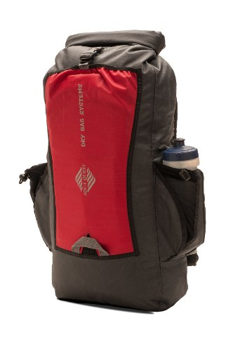 Aqua-Quest 'The Biker' Waterproof Backpack Dry Bag – 25 L / 1500 cu. in. Charcoal Model, Outdoor Stuffs