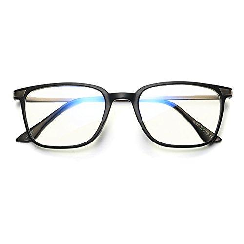Hommes Lunettes de soleil anti-bleu - TR90 Lunettes de lumière ultra légères Lunettes de mode Lunettes de mode - hibote sand black