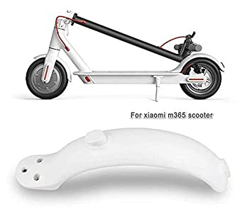 Theoutlettablet® Guardabarros Trasero reemplazo Compatible con Patinete Scooter Xiaomi M365 / M365 Pro - Color Blanco