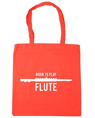 litres Born Play Coral Bag Beach HippoWarehouse x38cm to 42cm Gym Flute 10 Shopping Tote q7FdUxHwd