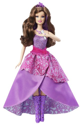 [Barbie The Princess & the Popstar 2-in-1 Transforming Keira Doll] (Barbie Pop Princess Costume)