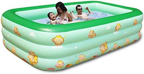 FACAI888 3 metros grandes de los niños piscina inflable / casa piscina inflable / piscina adultos / verde: Amazon.es: Hogar