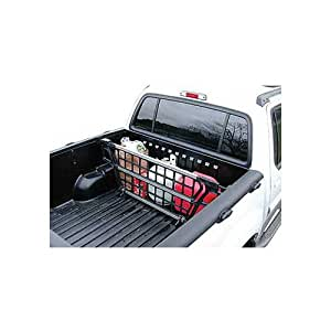 "Cargo Bed Gate For - Chevrolet - Colorado - 2004-2017 - (Fits under side rails) - Adjustable width 58.65 ""-63""; height 17"""