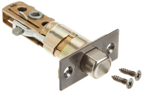 Kwikset Corporation 26499 DB SCAL 15A Series Deadbolt Square Corner Adjustable Latch in Antique Nickel