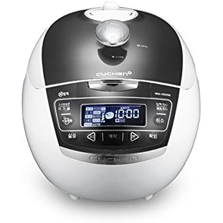 Cuchen Premium IH Pressure Rice Cooker 6Cup WHA VE0609G Metal Grey