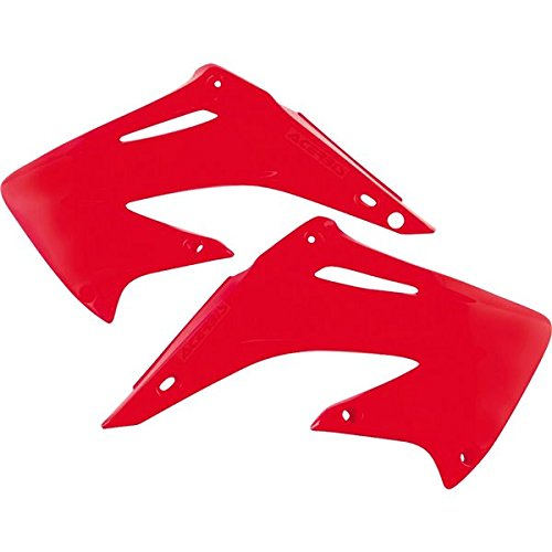 Acerbis Radiator Shrouds - Red , Color: Red 2043590227 (2003 Cr250r Radiator compare prices)