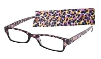 ba4003ad9b5 Amazon.com  ICU Eyewear Reading Glasses - 7291 Crystal Two-Tone ...