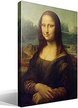 cuadro canvas Gioconda o Mona Lisa de Leonardo Da Vinci - 40cm x 55cm