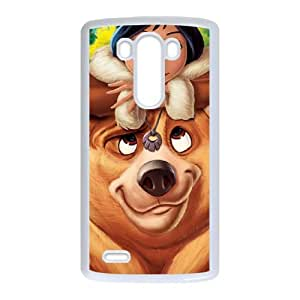 Brother Bear 2 LG G3 Cell Phone Case White nfer