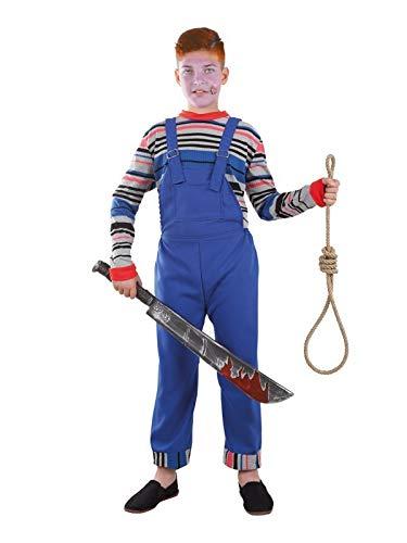 DISBACANAL Disfraz de muñeco diabólico niño - -, 6 años: Amazon.es ...
