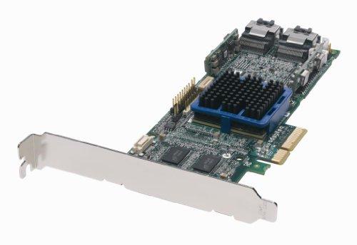Adaptec 2252100-R 8-Port Internal Connectors 128MB Cache PCI Express X8 SATA/SAS RAID Controller by Adaptec