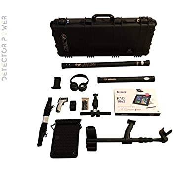 TERO VIDO Basic Plus 3D System Metal Detector - Professional Deep Seeking Detector - Underground Depth Scanner - Gold, Silver, Coins, Jewelry, Cavity, ...