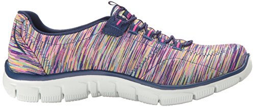 Skechers Damen Sport Empire - Rock um Relaxed Fit Fashion Sneaker Navy / Multi