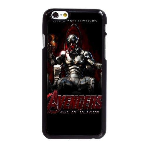 Parallax WB86MR7 coque iPhone d'Avengers Affiche 6 6S 4,7 pouces cas de téléphone portable coque C5NA2L2XO
