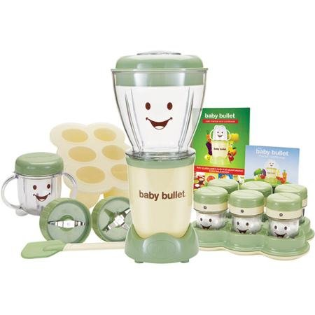 As Seen on TV BPA Free Baby Bullet Baby Food Maker, 20-Piece Set