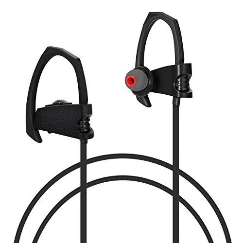 bluetooth headphones wireless sport bluetooth headphones ipx4 waterproof noi. Black Bedroom Furniture Sets. Home Design Ideas