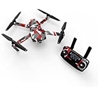 Signal Decal for drone DJI Mavic Pro Kit - Includes Drone Skin, Controller Skin and 3 Battery Skins
