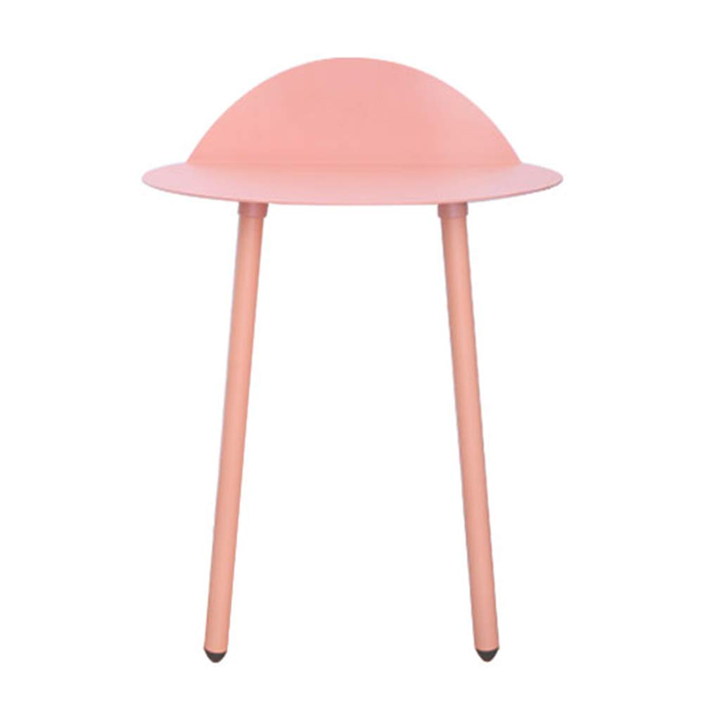 Pink-low Small Bedside Tables Nightstand Cabinet Bedside Cabinet Table Stackable Side Table Coffee Table End Table Nordic Iron Art Creative Living Room Sofa Simple GAOFENG (color   Green-high, Size   L)