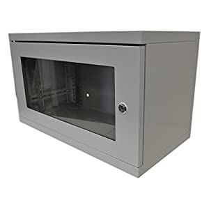 kenable Data Cabinet for Rack Mounted Networking Small 6U Wall Mounting 280mm