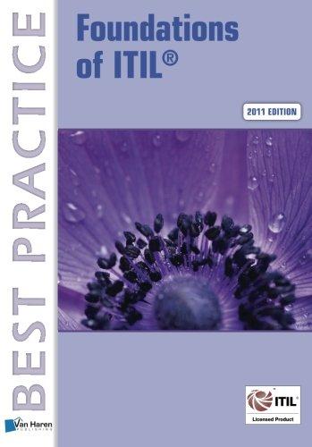 Foundations Of ITIL (Best Practice (Van Haren Publishing))