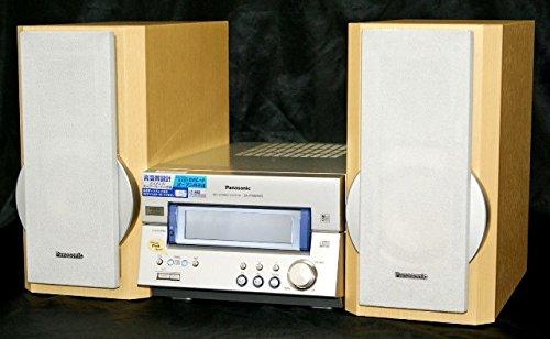 Panasonic パナソニック SC-PM65MD-S シルバー パーソナルミニコンポ(CD/MDコンポ)(本体SA-PM65MDとスピーカーSB-PM65のセット)   B0152WNTS0
