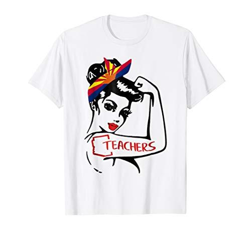 Arizona Teachers #RedForEd T Shirt For Mom, Dad, Teachers