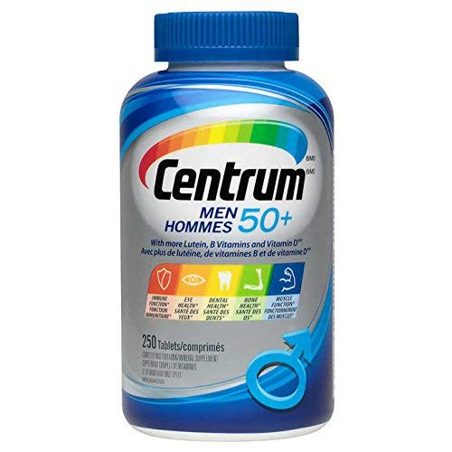 Centrum for Men 50+ 250 Tablets (Value Pack)
