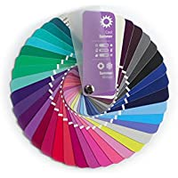 Color Swatch Fan Cool Summer (Or Summer-winter) 35 Colors