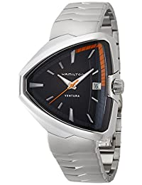 Hamilton Ventura Elvis80 Black Dial Mens Watch H24551131