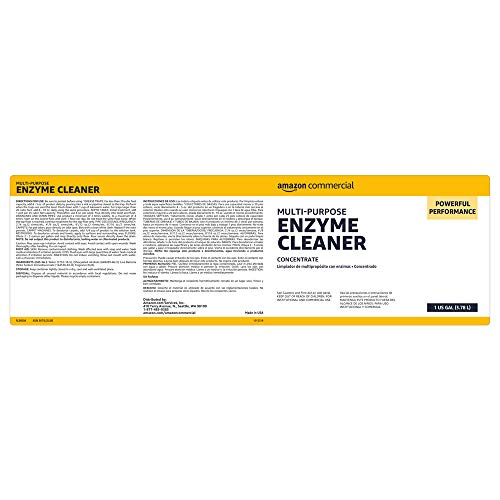 AmazonBusiness Multi-Purpose Enzyme Cleaner, 1-Gallon, 1-Pack
