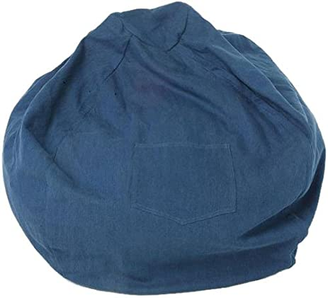 Fun Furnishings Large Beanbag Denim