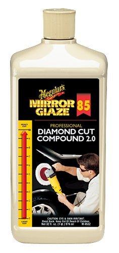 Meguiar's M8532 Mirror Glaze Diamond Cut Compound 2.0 - 32 oz. Size: 32 Ounce, Model: M8532, Outdoor&Repair (Meguiars Diamond Cut Compound)
